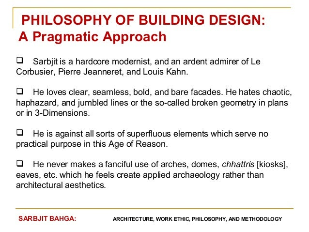 Contemporary Architecture Design Philosophy With Ideas