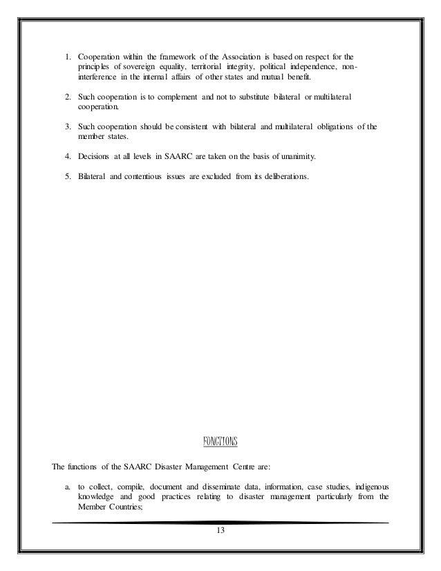 sarc report