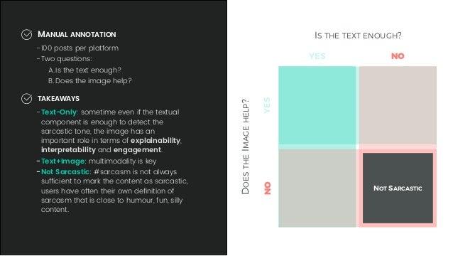 detecting sarcasm in multimodal social platforms rh slideshare net
