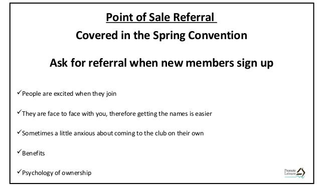 Sales & Retention Convention - Referral - session 3