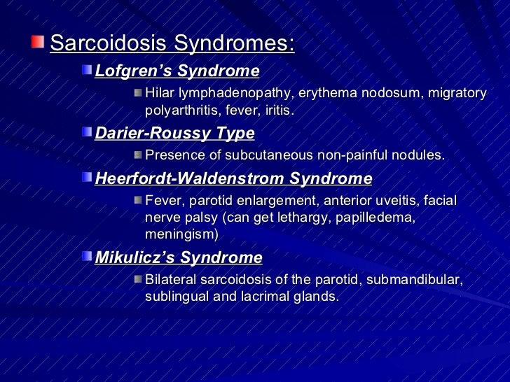 синдром heerfordt-waldenstrom