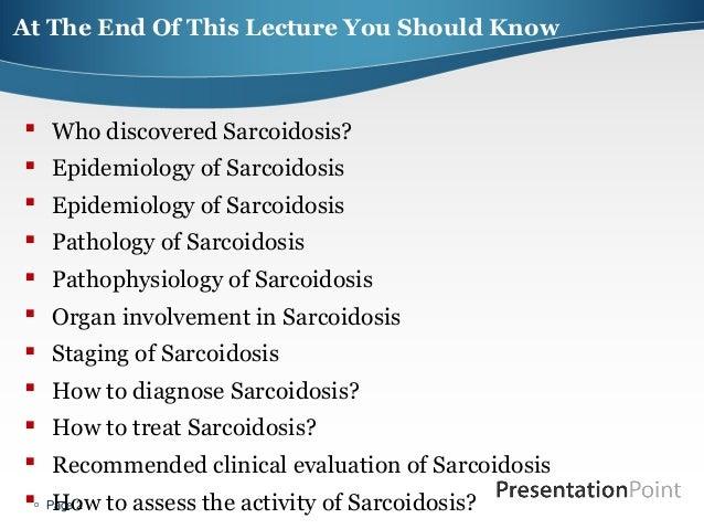 Sarcoidosis & orphan lung disease