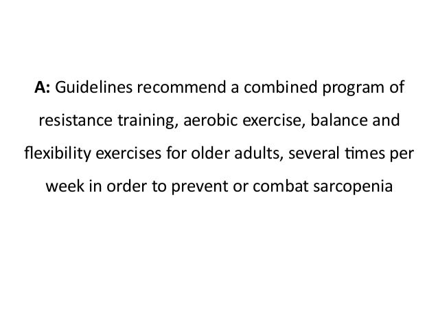 resistance training guidelines for older adults