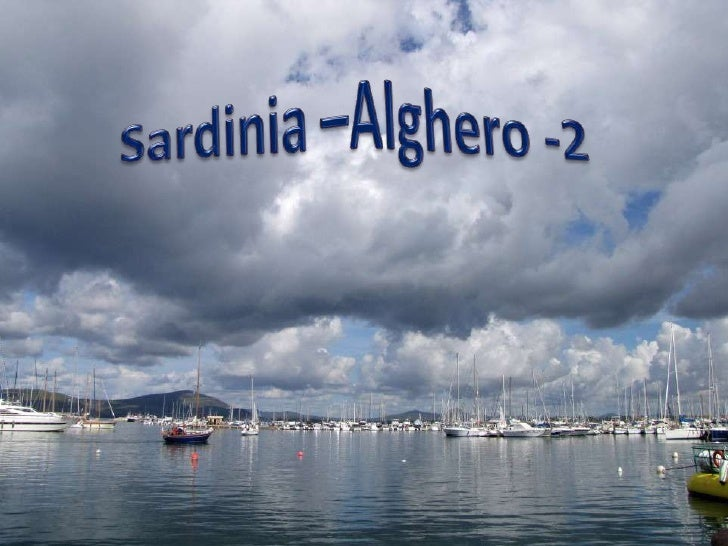 Sardinia –Alghero -2 <br />