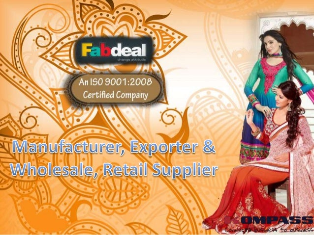 Fabdeal is the ultimate Indian e-fashion hub synonymous with perfection, excellence and style located at Surat, Gujarat, I...
