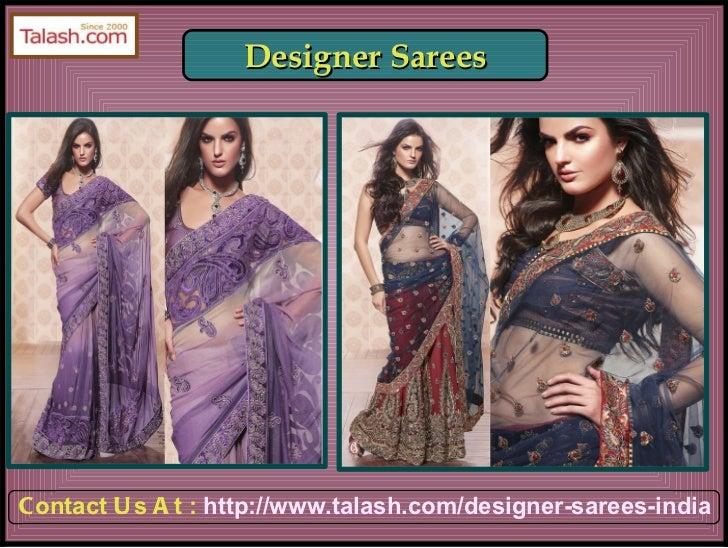 Sarees India,Buy Sarees Online,Indian Sarees Online, Buy Sarees from india - Talash.com Slide 2
