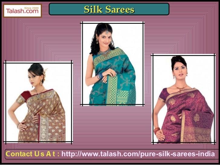 Sarees India,Buy Sarees Online,Indian Sarees Online, Buy Sarees from india - Talash.com Slide 3