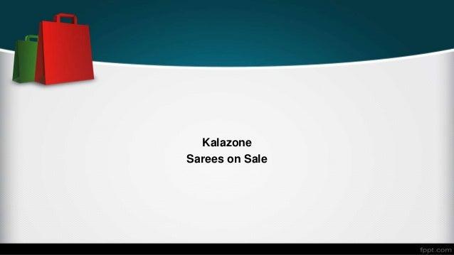 Kalazone Sarees on Sale