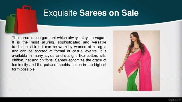Designer Sarees on sale Slide 2