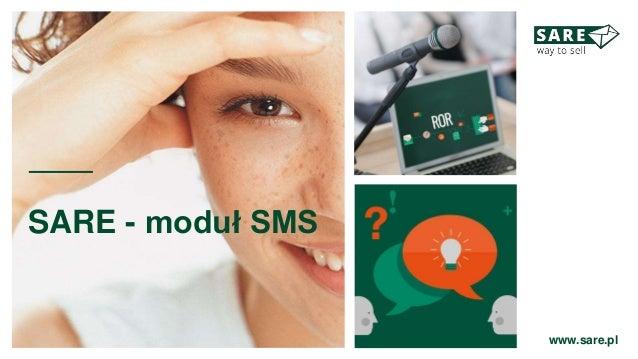 SARE - moduł SMS www.sare.pl