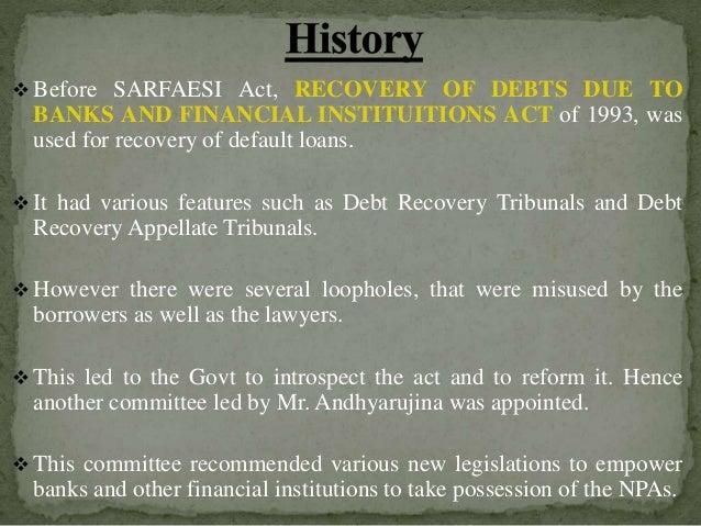 Take Over Lease >> Sarfaesi Act