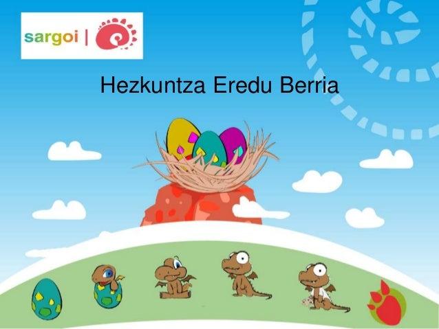 Hezkuntza Eredu Berria