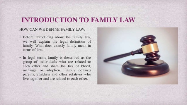 Sari Friedman Lawyer - Brief Introduction and Explanation about Famiy Laws  Slide 2