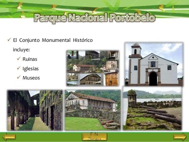 Parques Nacionales De Panam 225 Sarigua Y Portobelo