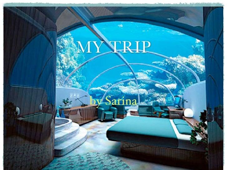 MY TRIP by Sarina