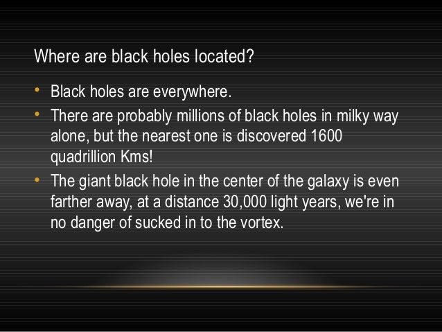 What happens should you be sucked into a black hole? • Spaghettification is a theory as to what happens when a person is s...