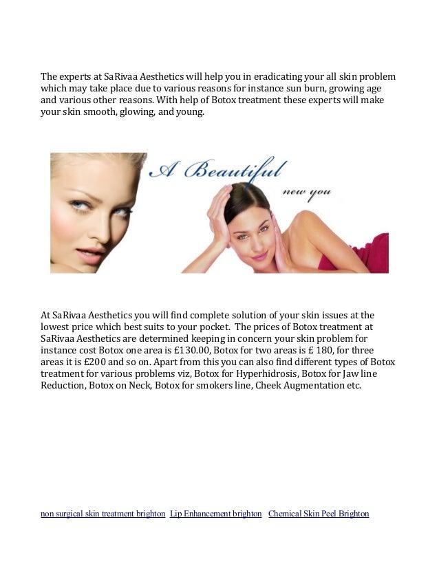 Sarivaa Aesthetics' Skin Treatment in Brighton UK