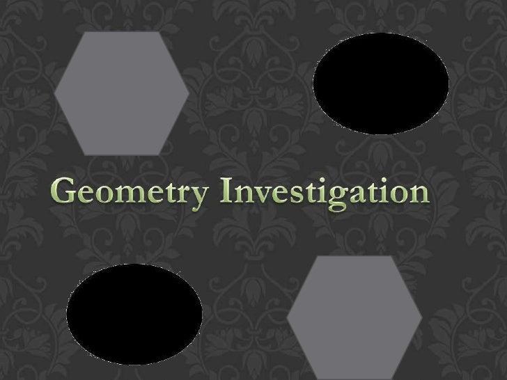 Geometry Investigation<br />