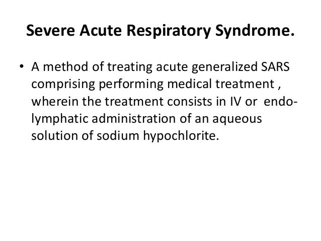 an introduction to the disease severe acute respiratory syndrome Free essay: severe acute respiratory syndrome, commonly known as sars, first came onto the scene in november 2002 in mainland china the respiratory disease.