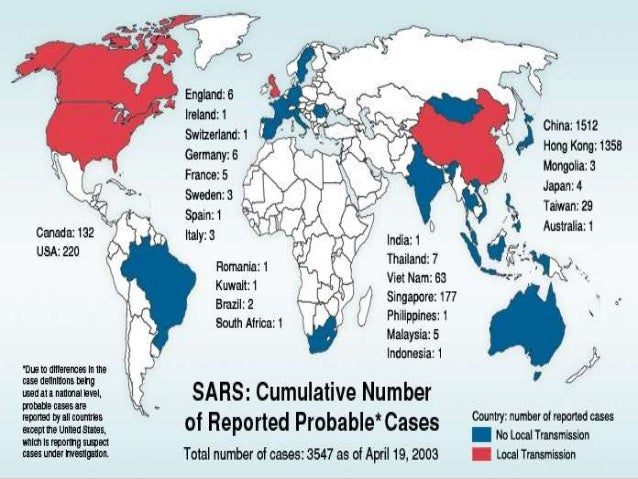 SARS epidemiolody and morphology of the virus on who sars 2003 june spreading map, biological weapons casualties map, the global spread of buddhism map,