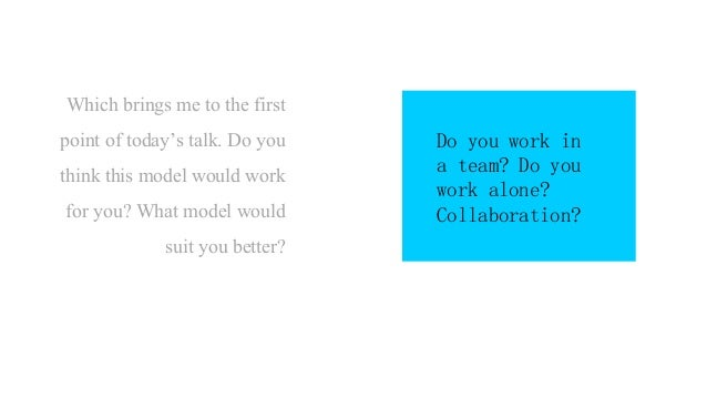 Which brings me to the final set of questions. Do you feel you'd like to learn designer's perspectives this way? Would thi...