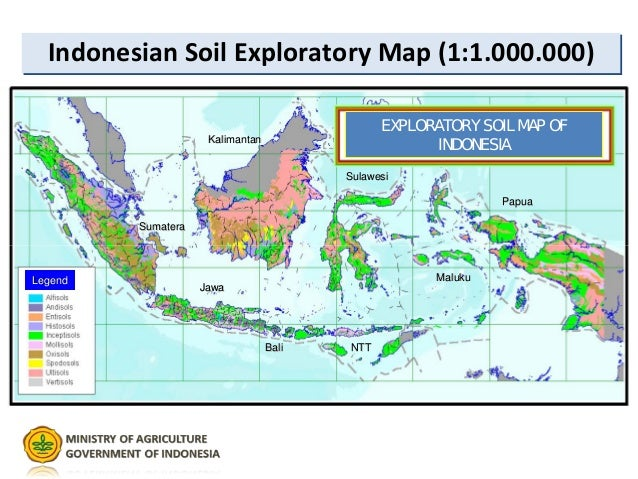 Indonesia Natural Resources Map