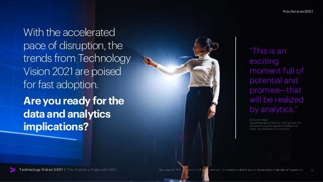 2 #techvision2021 With the accelerated pace of disruption, the trends from Technology Vision 2021 are poised for fast adop...