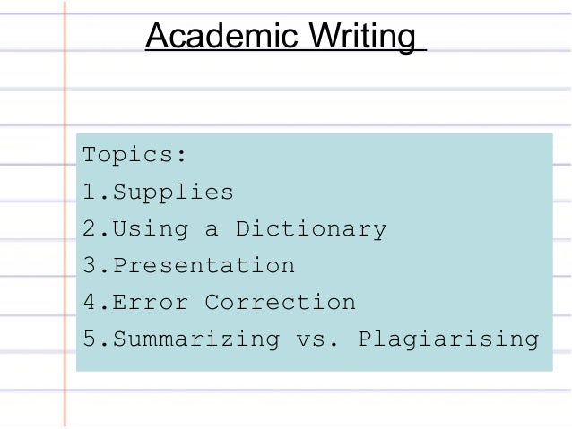 Academic Upgrading