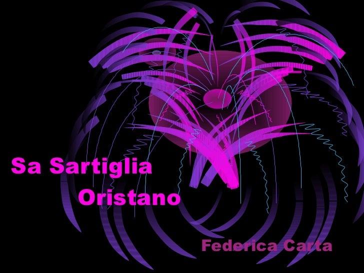 Sa Sartiglia   Oristano   Federica Carta