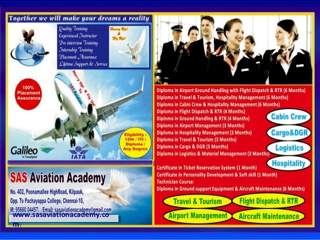 Sas Aviation Academy & Galaxy Industrial Training Slide 2