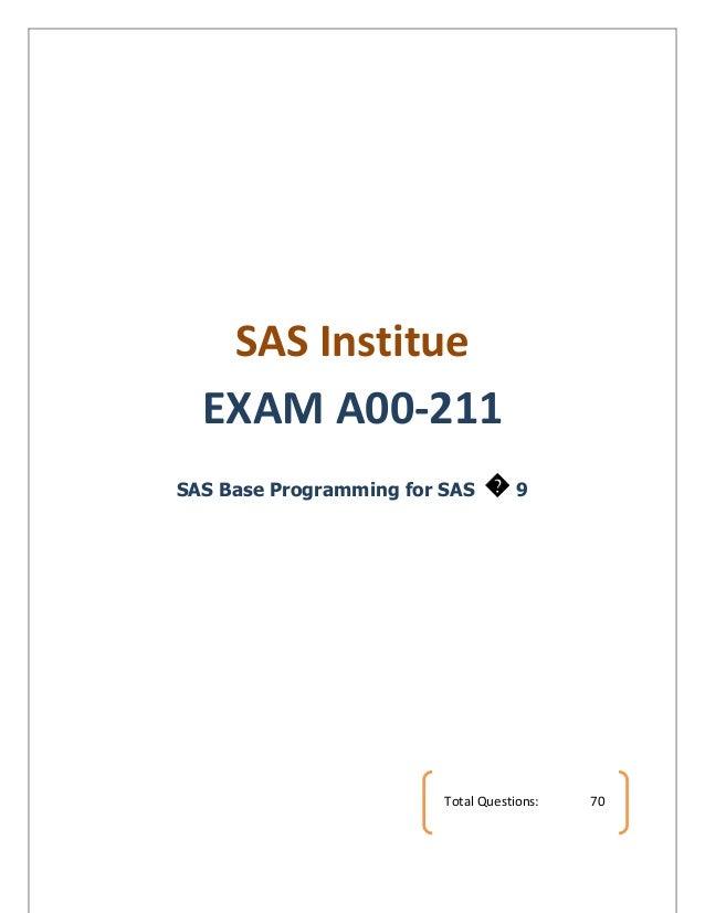 Base Sas Full Sample Paper