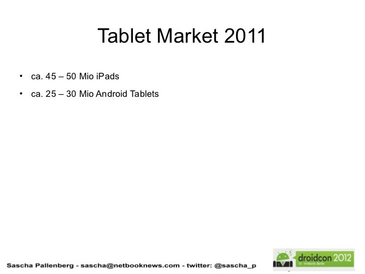 Sascha Pallenberg Gaming Tablets Fragmentation What S Ahead In Th