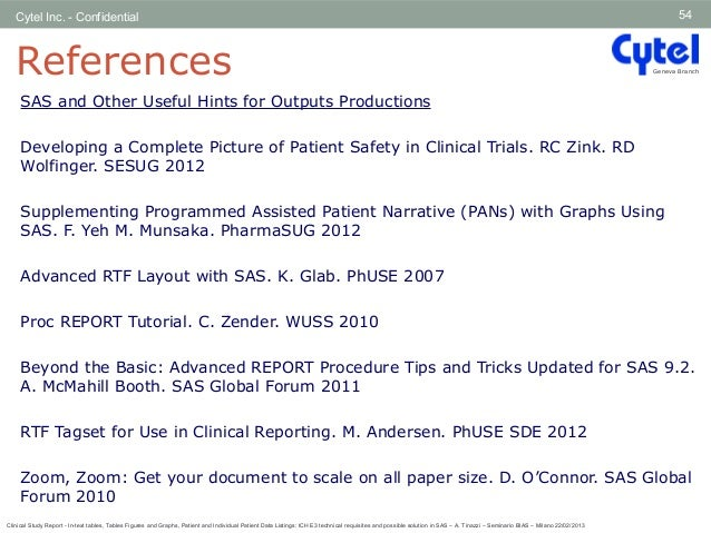CLINICAL STUDY REPORT - IN-TEXT TABLES, TABLES FIGURES AND