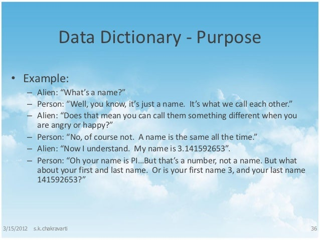 Structured analysis and structured design for Data dictionary