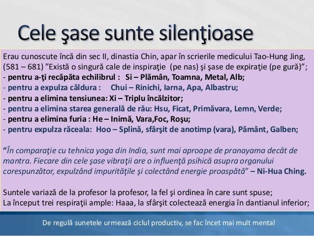 Sase sunete vindecătoare Qigong Slide 2