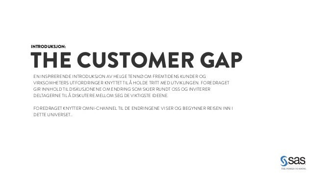 Fagmøte om Omni-Channel Marketing - Agenda Slide 3