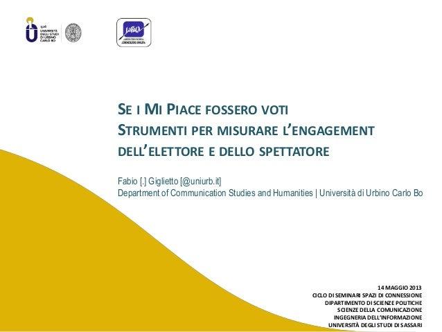 fabiogigliettoFabio [.] Giglietto [@uniurb.it]Department of Communication Studies and Humanities | Università di Urbino Ca...