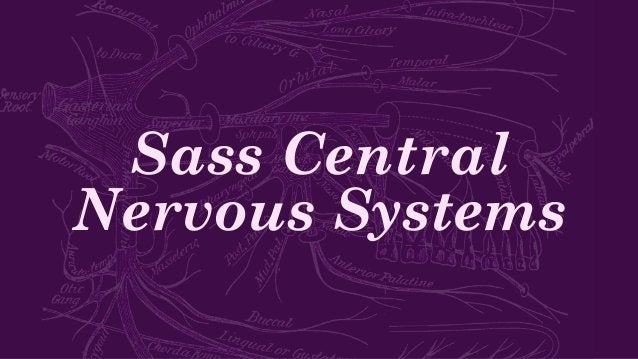 Sass Central Nervous Systems