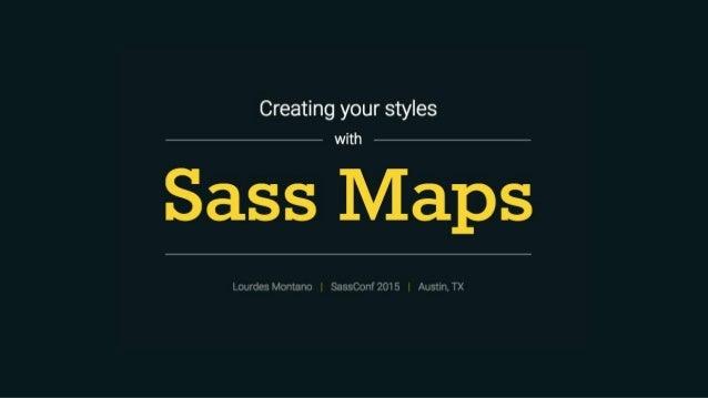 Sassconf maps