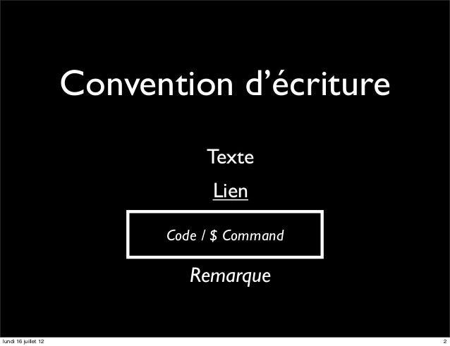 Convention d'écriture                                 Texte                                  Lien                         ...