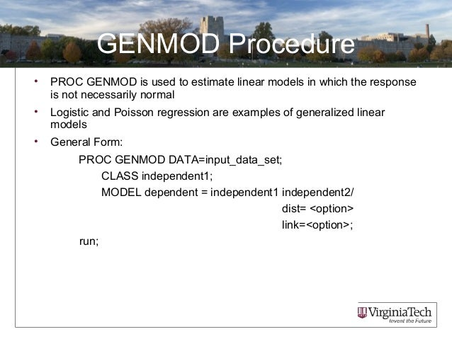Contrast statement in proc genmod