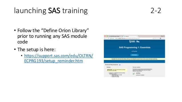 SAS University Edition - Getting Started