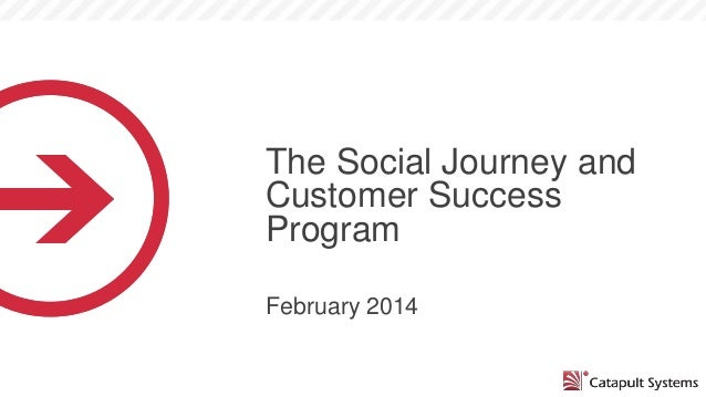The Social Journey and Customer Success Program February 2014