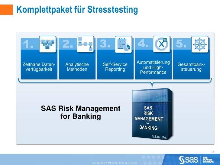 Komplettpaket für Stresstesting Zeitnahe Daten-   Analytische                Self-Service                               Au...