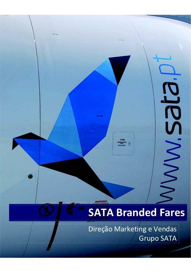 Sata branded fares
