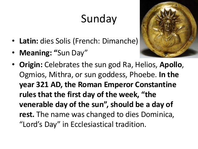 Satanic origin of the Gregorian Calendar