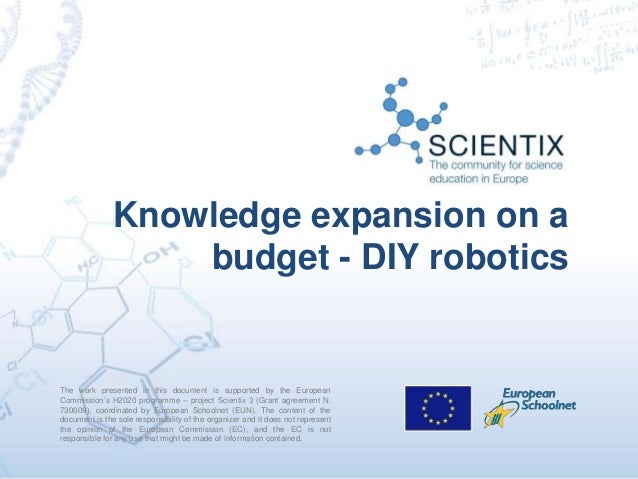 The work presented in this document is supported by the European Commission's H2020 programme – project Scientix 3 (Grant ...