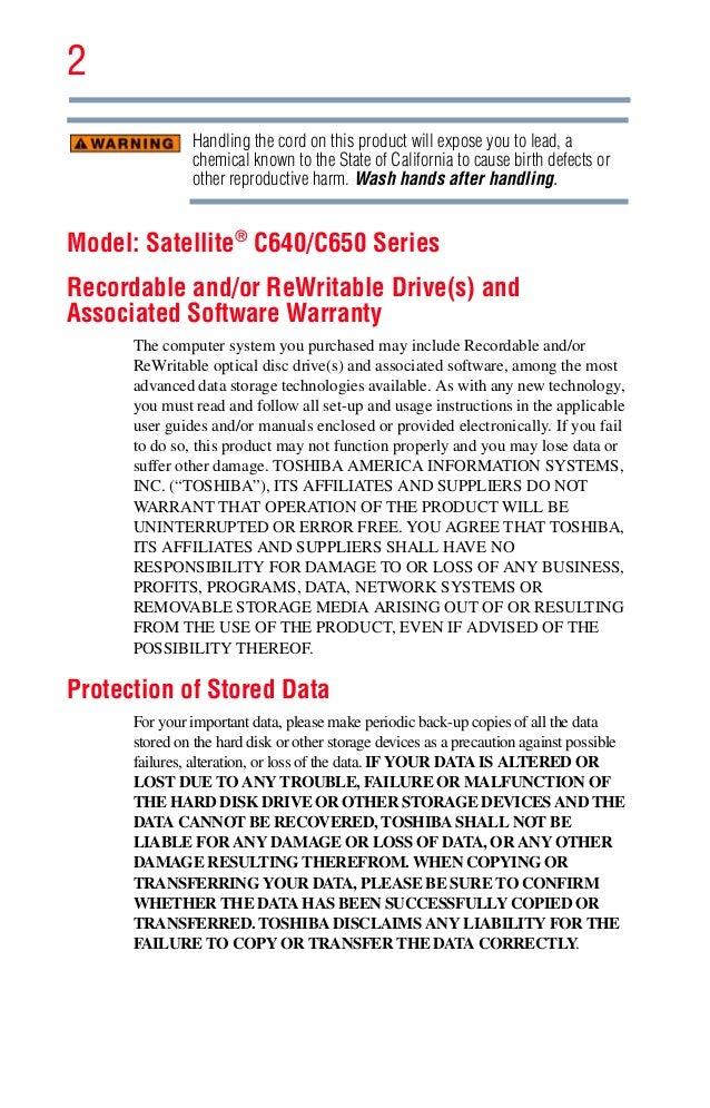 toshiba user manual guide pdf for satellite c640 c650 rh slideshare net toshiba satellite c670d service manual toshiba satellite p300 service manual