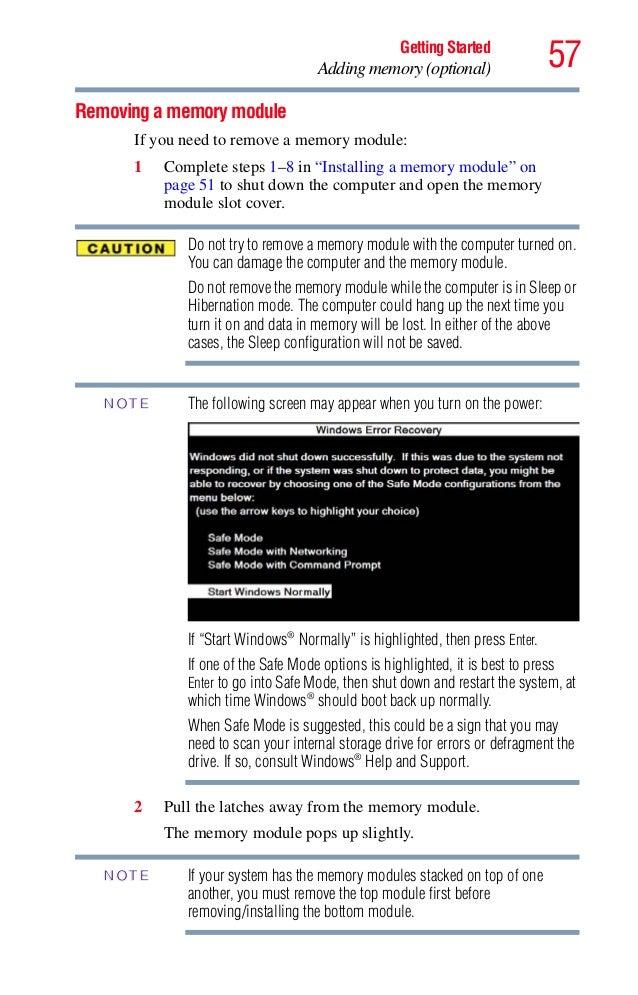 toshiba satellite c55 user manual pdf