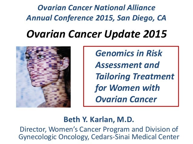 Mello Abrams Lecture: Ovarian Cancer Update: Beth Karlan, MD